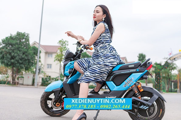 Danh gia xe may dien Zoomer Dibao 2017 chinh hang - 5