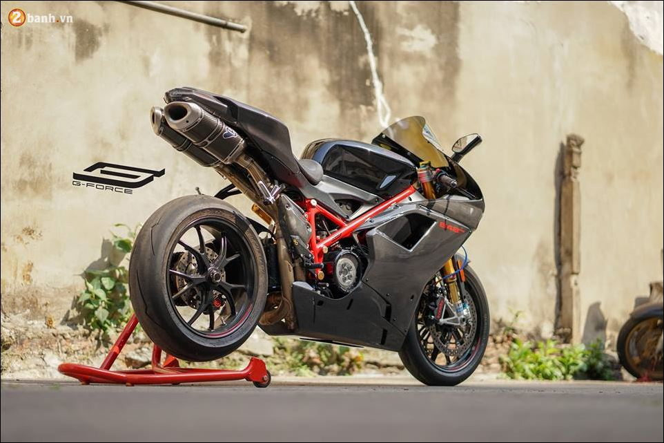 Ducati 848 Evo me man nguoi xem tu phien ban cuoi cung Series 848