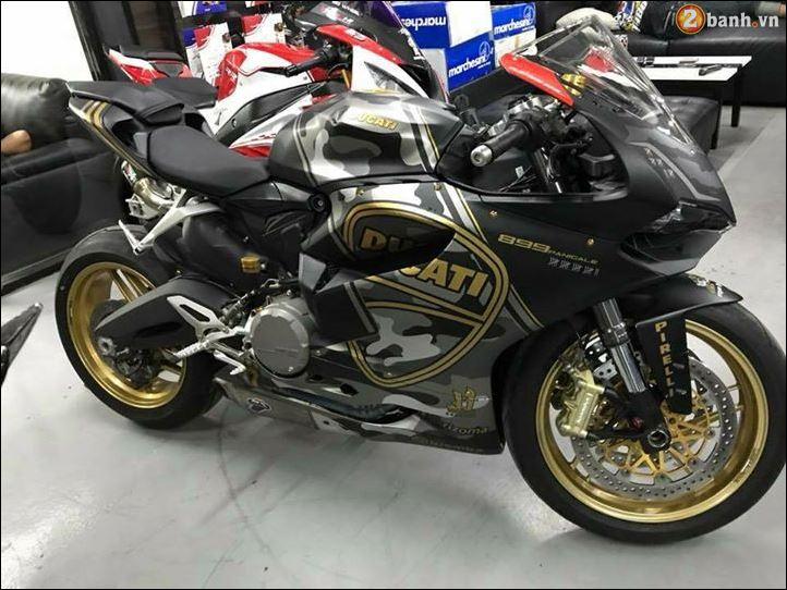 Ducati 899 Panigale quy do doi lot Camo Limited dep ngat nguong - 6