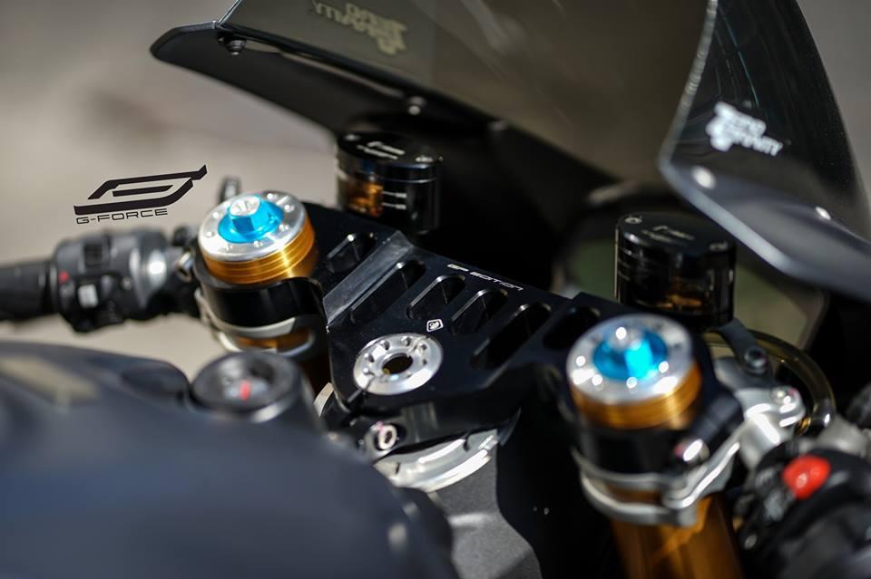 Ducati 959 Panigale thien than kieu sa qua version xam lamborghini - 4