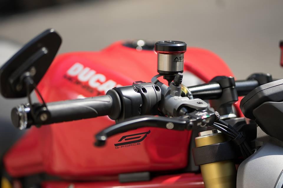 Ducati Monster 821 Makeover dien mao dep khong tuong - 4