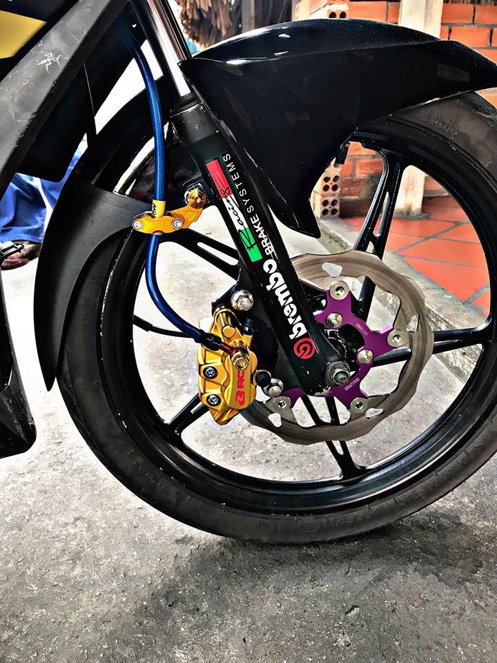 Exciter 135 do kieng cuc dep cua Biker Viet - 5