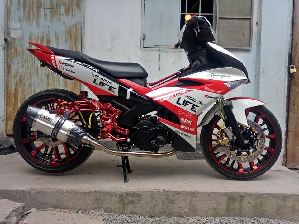 Exciter 150 do dep nhat day phong tro cua biker Dong Thap