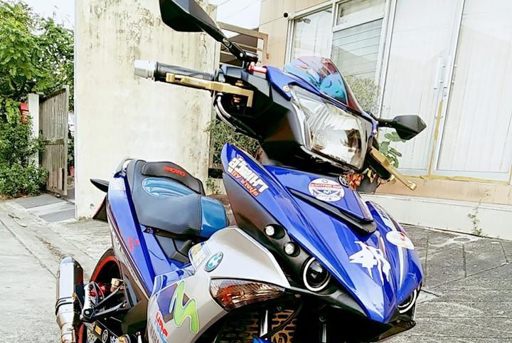 Exciter 150 do don gian voi nhung mon do choi cuc chat cua biker nuoc ban - 3