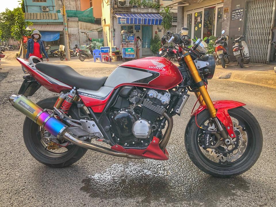 Honda CB400 ban do hang nang tu Biker Viet