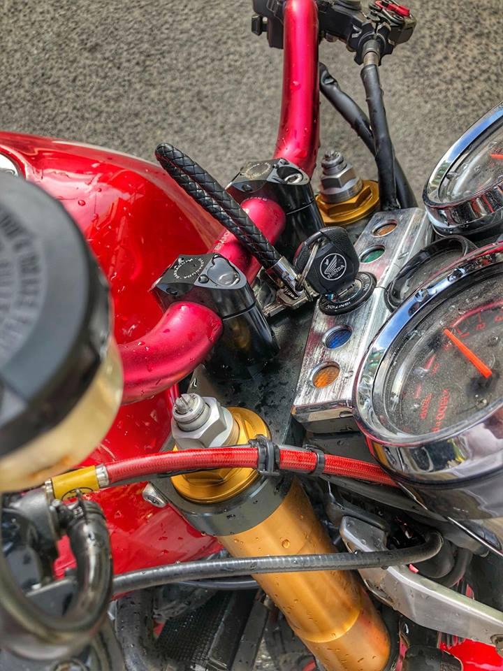 Honda CB400 ban do hang nang tu Biker Viet - 4
