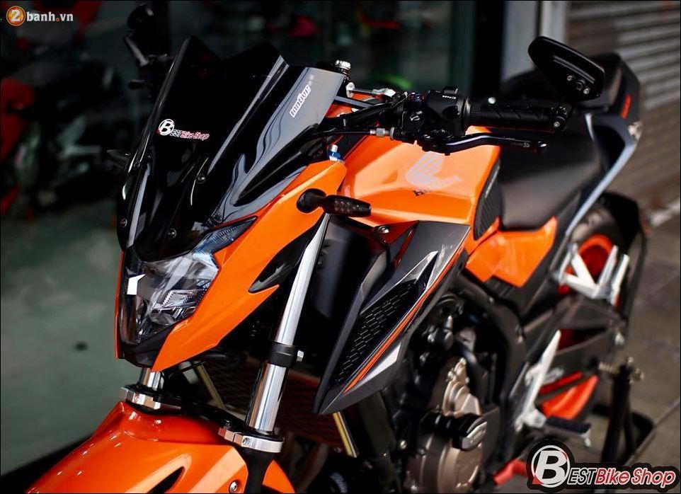 Honda CB500F do xuat sac qua Version con loc mau da cam - 4