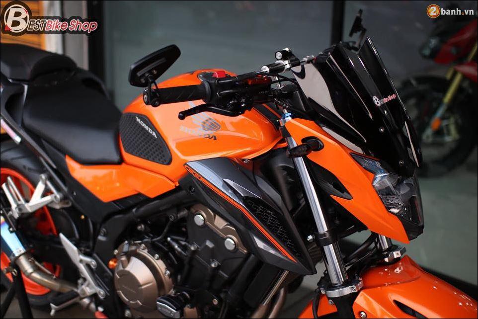 Honda CB500F do xuat sac qua Version con loc mau da cam - 10