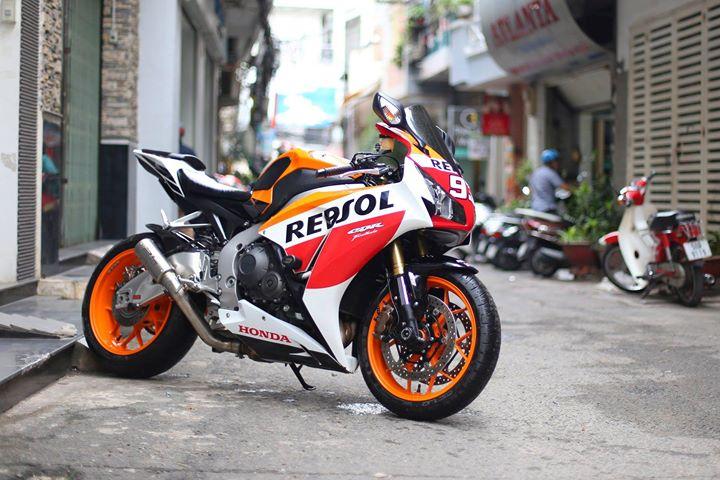 Honda CBR1000RR Bo mong hang sang cua Biker Viet