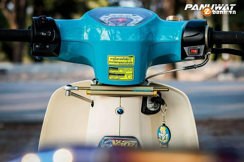 Honda Cub Fi do huy hoang vuot bac moi thoi dai cua biker xu chua vang - 5