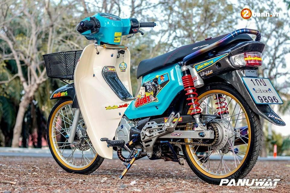 Honda Cub Fi do huy hoang vuot bac moi thoi dai cua biker xu chua vang - 10