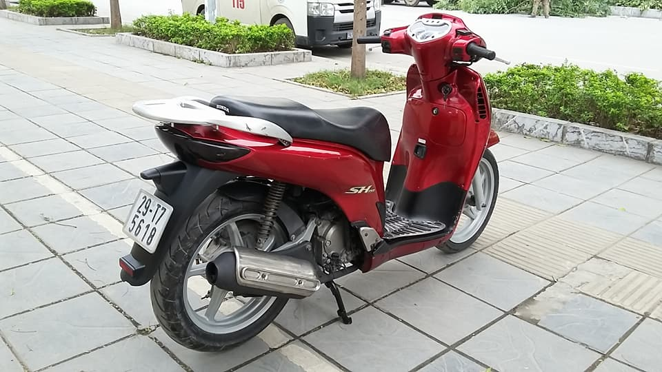 Honda sh 150i mau do che co nhap y bien HN - 5