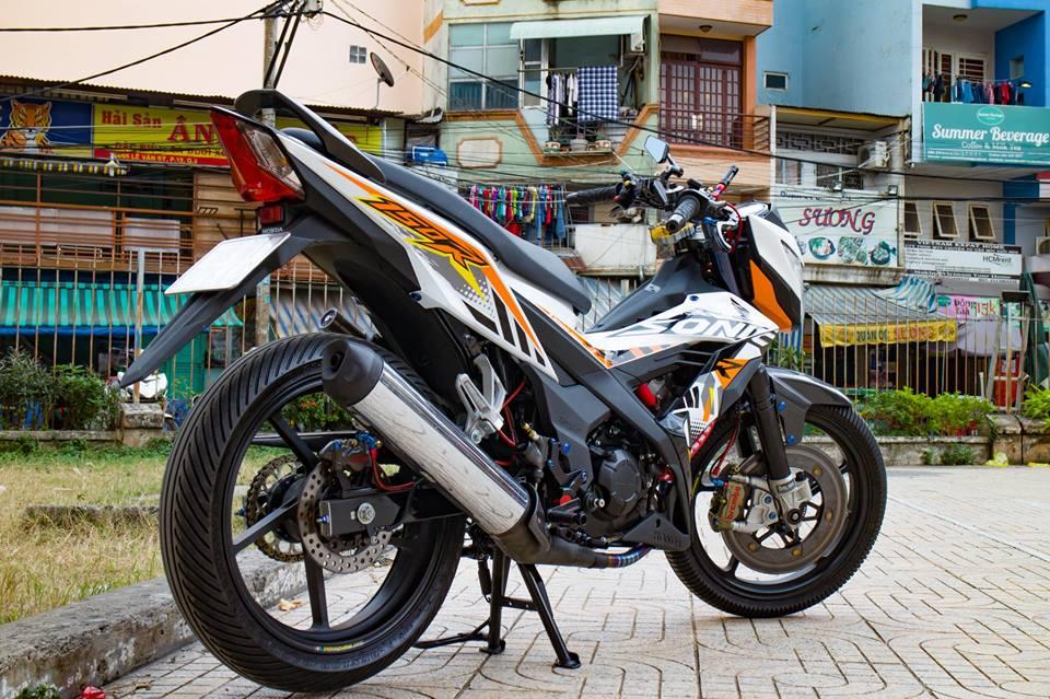 Honda Sonic 150R do cuc KHUNG voi khoi do choi hoang toc cua biker Viet - 13