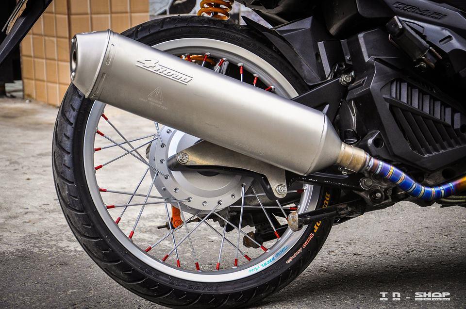 Honda Vario 150 do day dang cap voi ve dep chim sa ca lan - 7