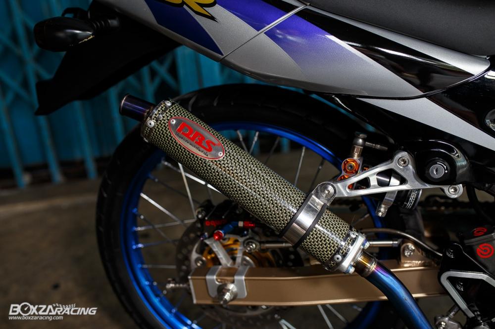 Kawasaki Kips 150 do kieng cuc khung voi dan do choi hang hieu - 12