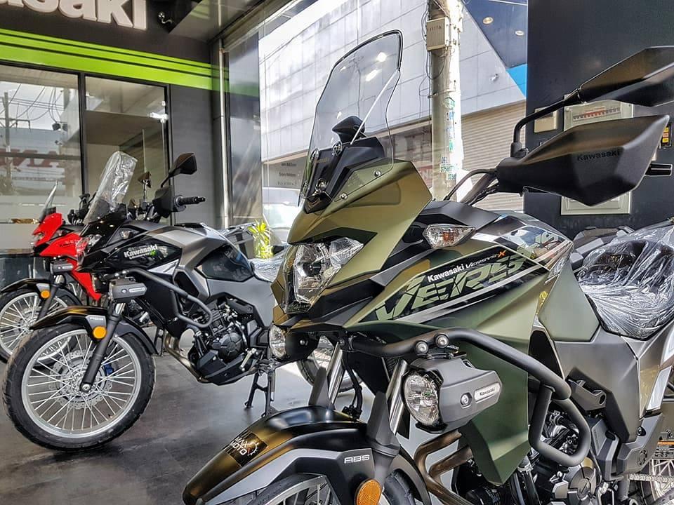 Kawasaki Versys X300 2018 ve Viet Nam gia 169 trieu dong