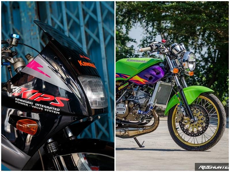 Kawasaki VictorSE 150 Dua con toc do voi loat do choi Khung