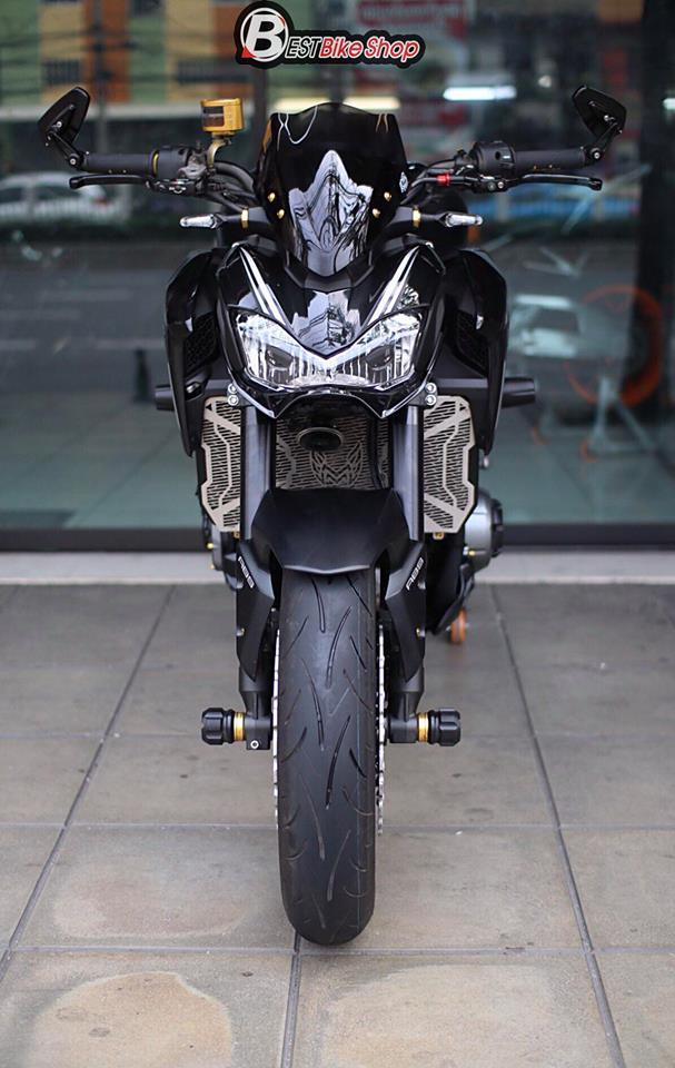 Kawasaki Z900 Nakedbike pho dien trang bi cong nghe toi tan - 4