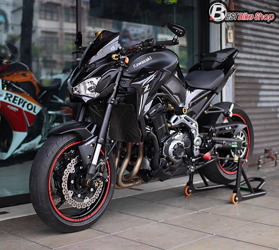 Kawasaki Z900 Nakedbike pho dien trang bi cong nghe toi tan - 14