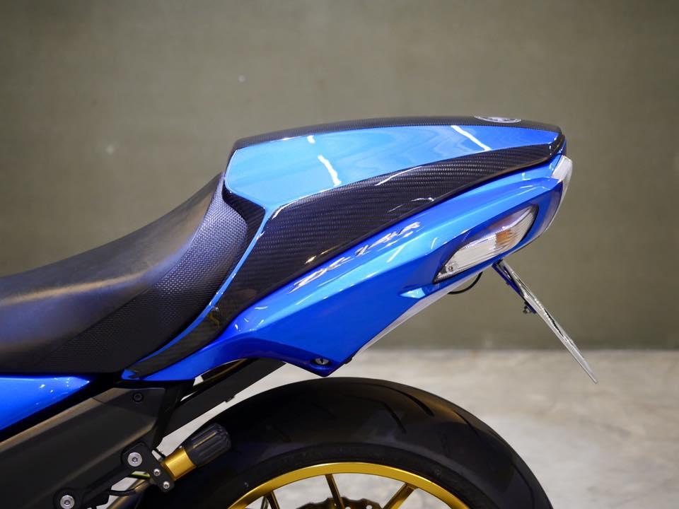 Kawasaki ZX14R Ha ma hung ton qua version Race Blue - 6