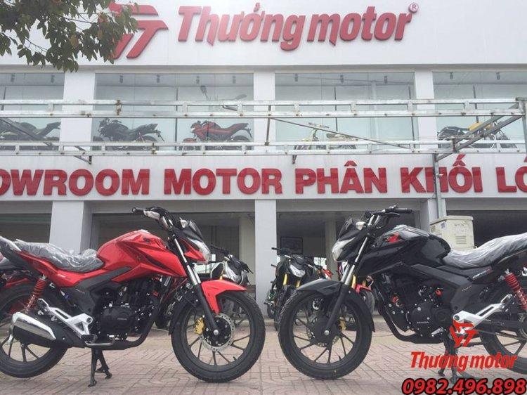 Lo Hang Honda CBF 125r Model 2018