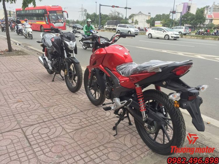 Lo Hang Honda CBF 125r Model 2018 - 3