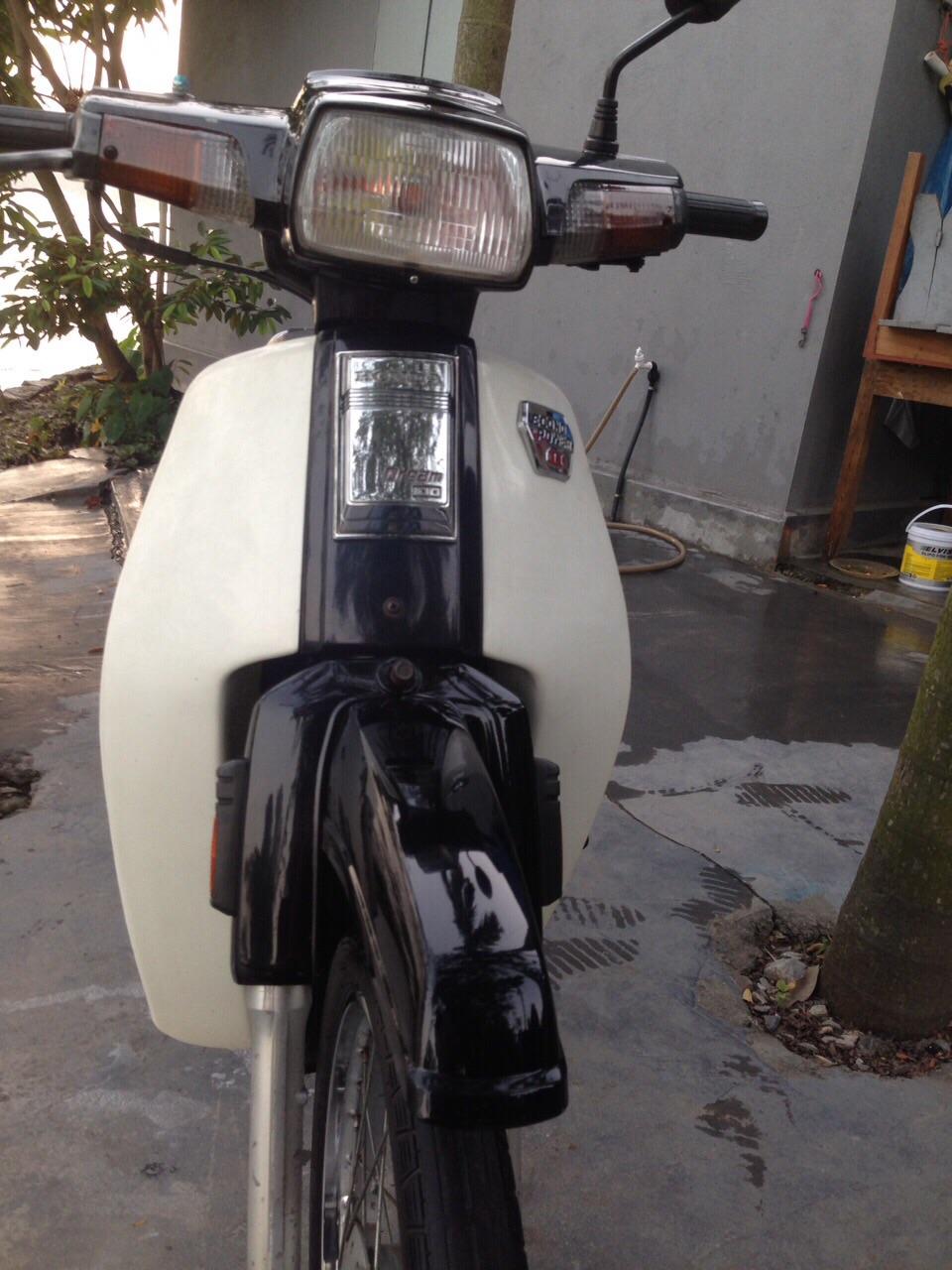 Minh mun ban xe Dream thai lam lai dep manh