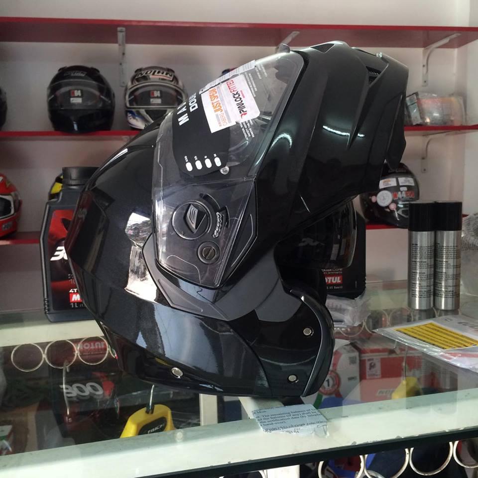 Moto299 Mu bao hiem lat ham Caberg Duke tai Ha Noi - 5