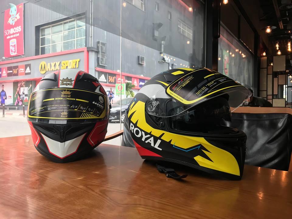 Moto299 Nhung mau mu bao hiem Royal moi nhat tai Ha Noi