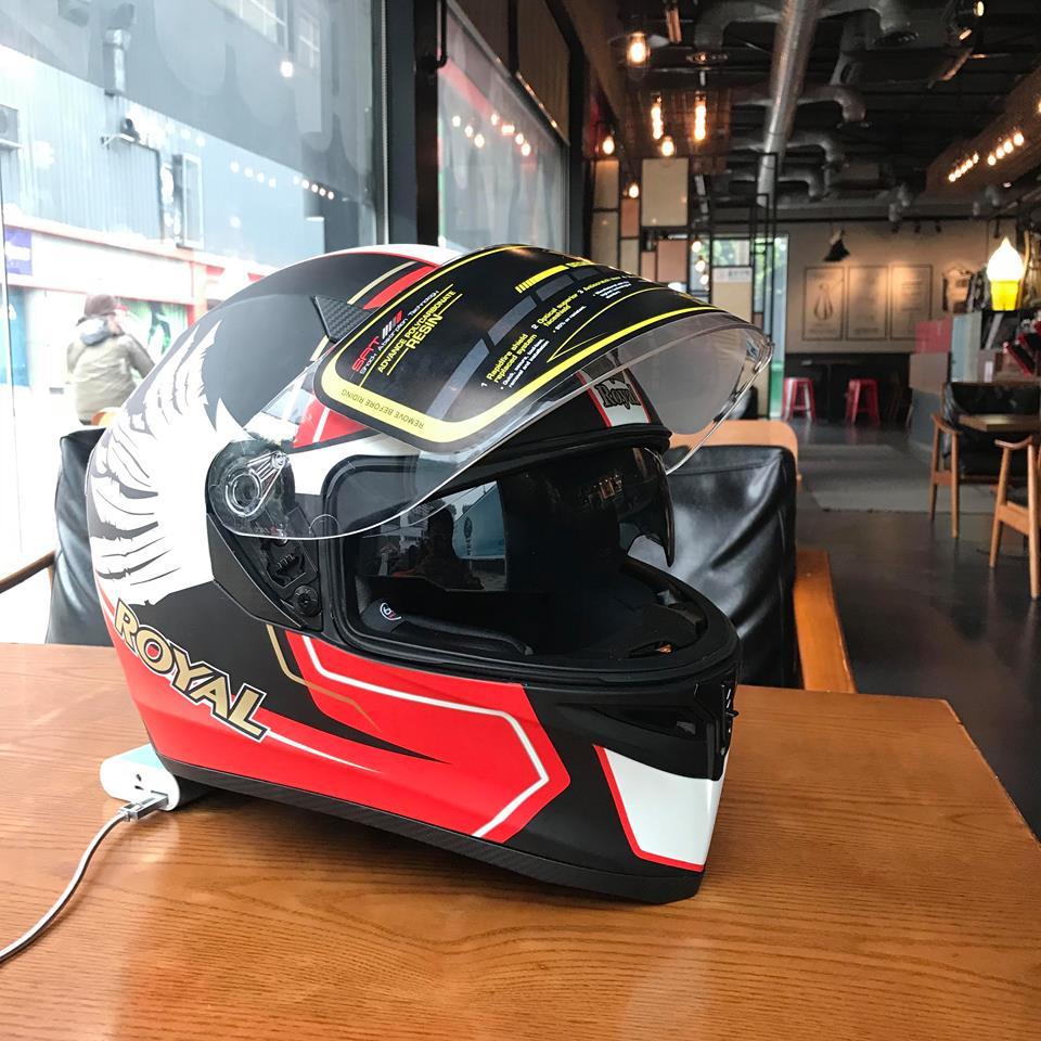 Moto299 Nhung mau mu bao hiem Royal moi nhat tai Ha Noi - 3
