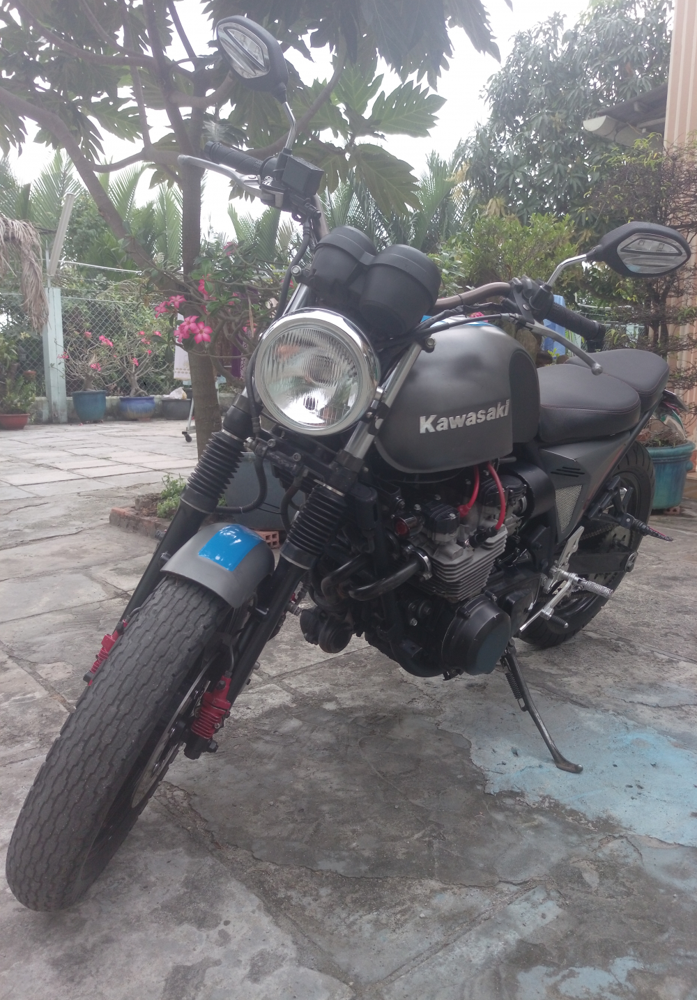 nha chat ban nhanh moto Kawasaki Z800 chinh chu trum men gia 110 trieu - 2