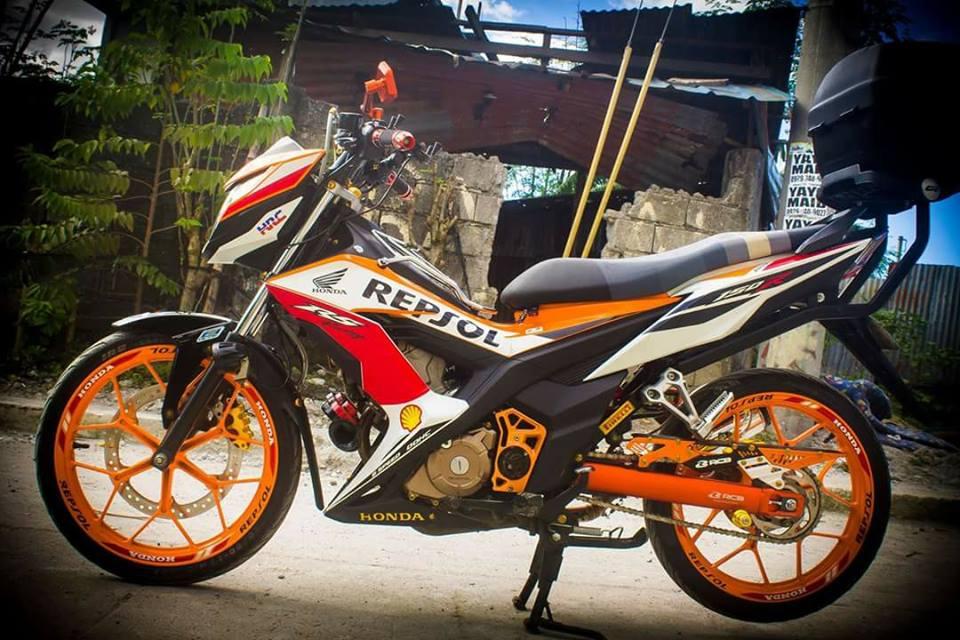 Sonic 150 do full do choi Racingboy cua Biker nuoc ngoai