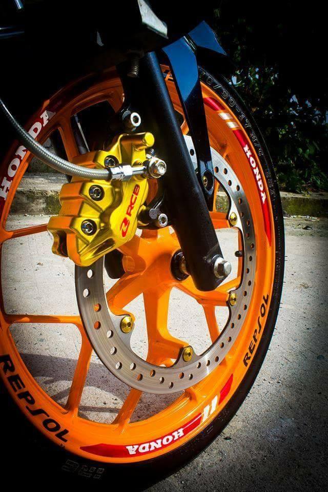 Sonic 150 do full do choi Racingboy cua Biker nuoc ngoai - 4