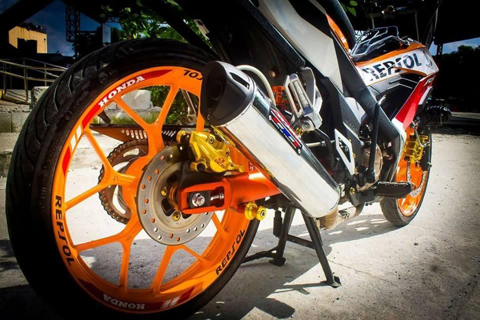 Sonic 150 do full do choi Racingboy cua Biker nuoc ngoai - 6