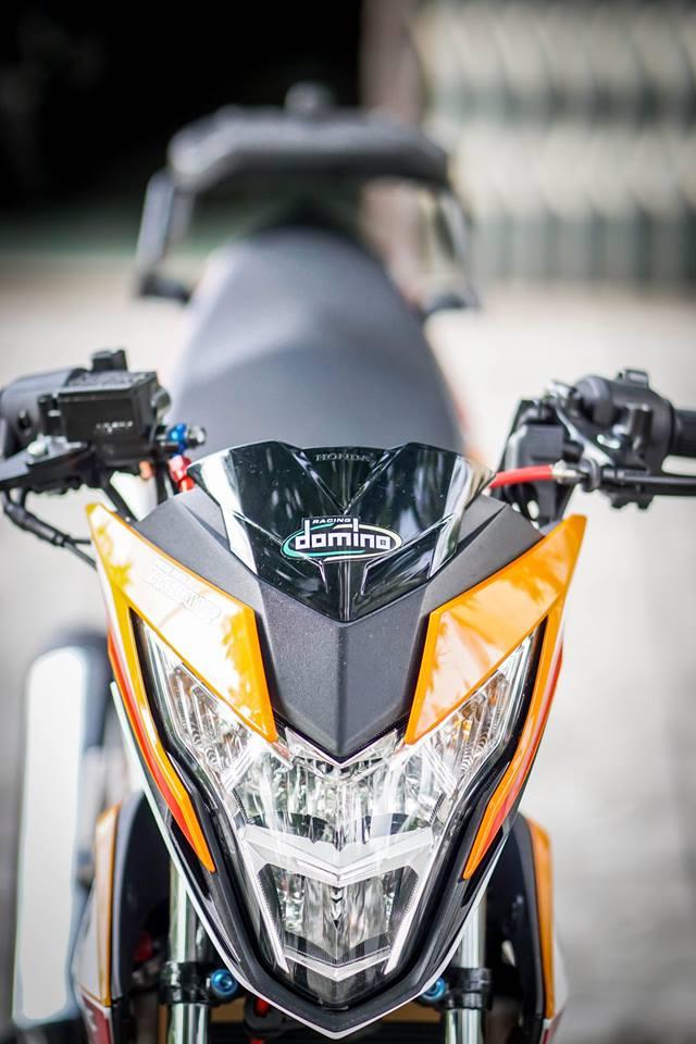Sonic 150R Mau HyperUnderbone duoc do manh me cua biker mien tay - 4