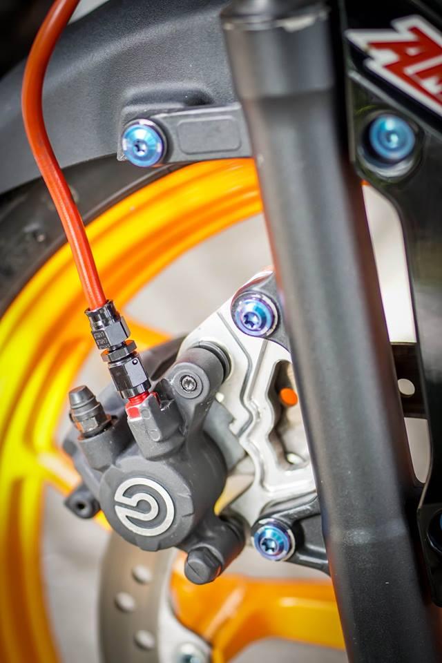 Sonic 150R Mau HyperUnderbone duoc do manh me cua biker mien tay - 6