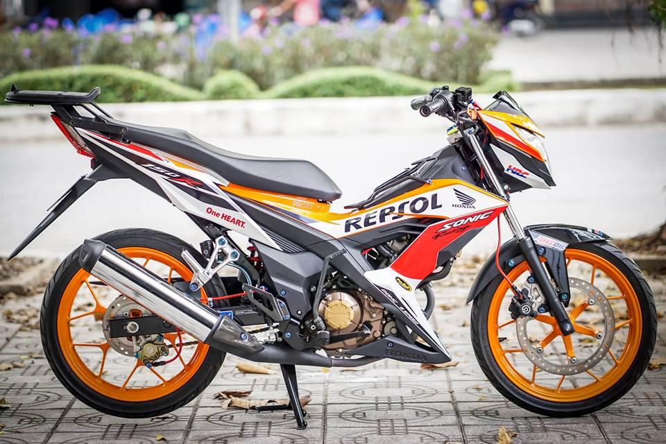 Sonic 150R Mau HyperUnderbone duoc do manh me cua biker mien tay - 10