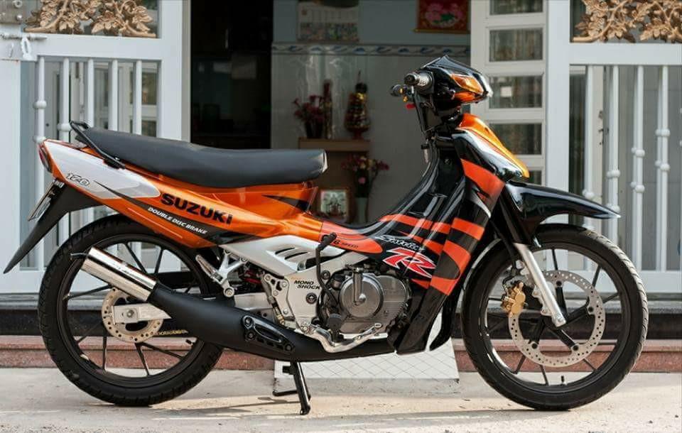 Suzuki Sport 1999 Mau xe 2 thi huyen thoai uoc mo cua nhung chang trai Viet
