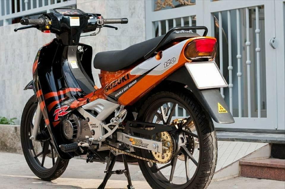 Suzuki Sport 1999 Mau xe 2 thi huyen thoai uoc mo cua nhung chang trai Viet - 4