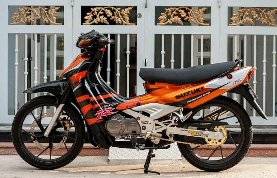 Suzuki Sport 1999 Mau xe 2 thi huyen thoai uoc mo cua nhung chang trai Viet - 8