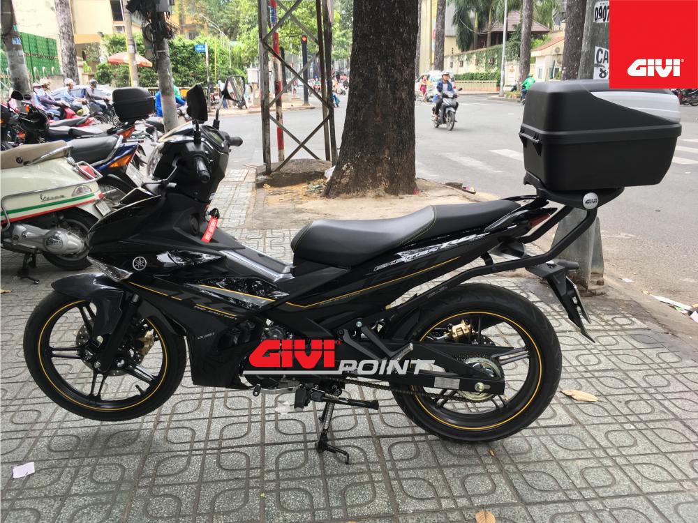Thung sau GIVI cho cac dong xe