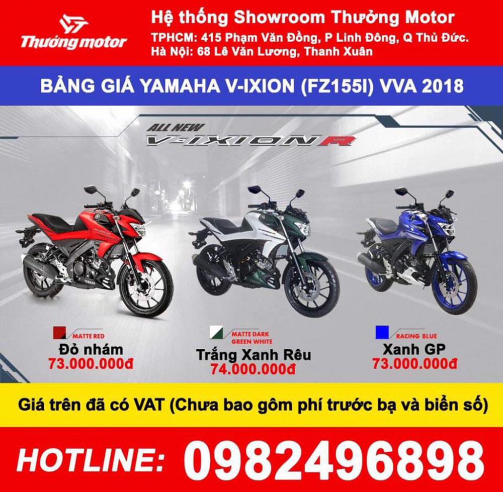 VIXION 155 2018 F155i Nhap Indonesia