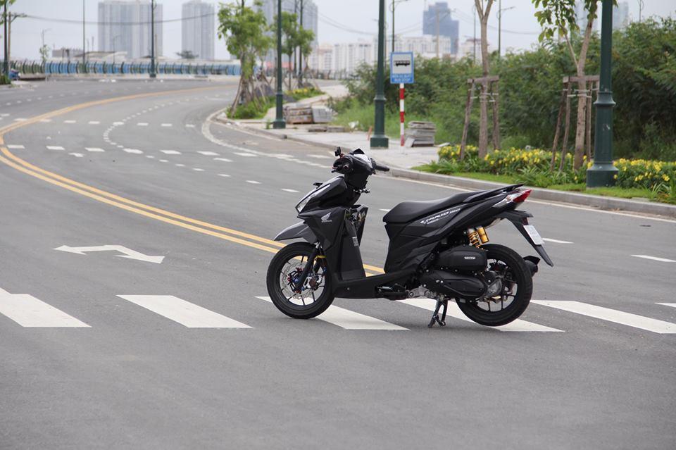 Vario 150 ban do voi nhieu do choi khung tu tin khoe sac cua biker Viet - 3