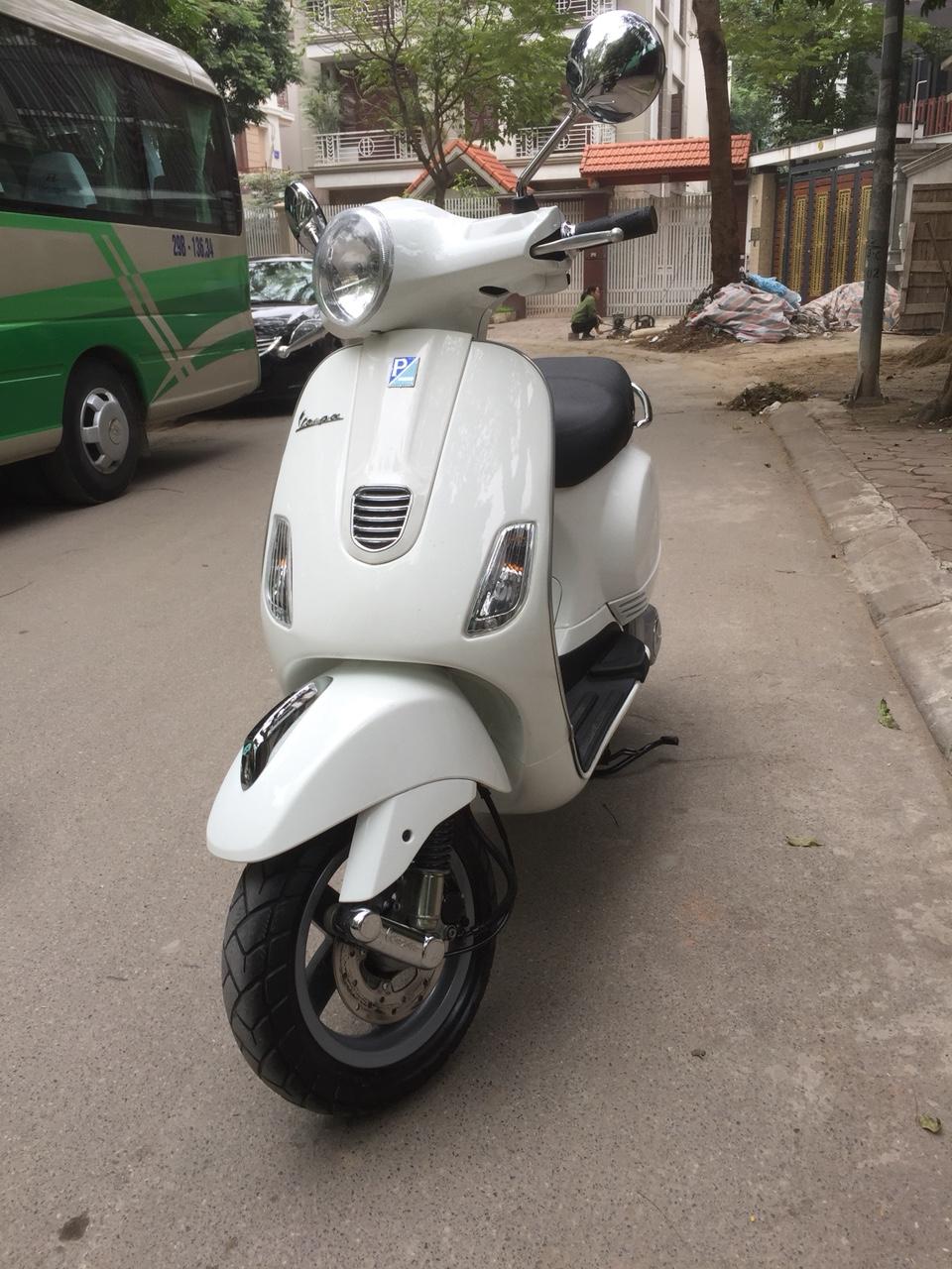 Vespa Lx 125 3vie trang 2014 chinh chu 2913186 con moi 95 - 5