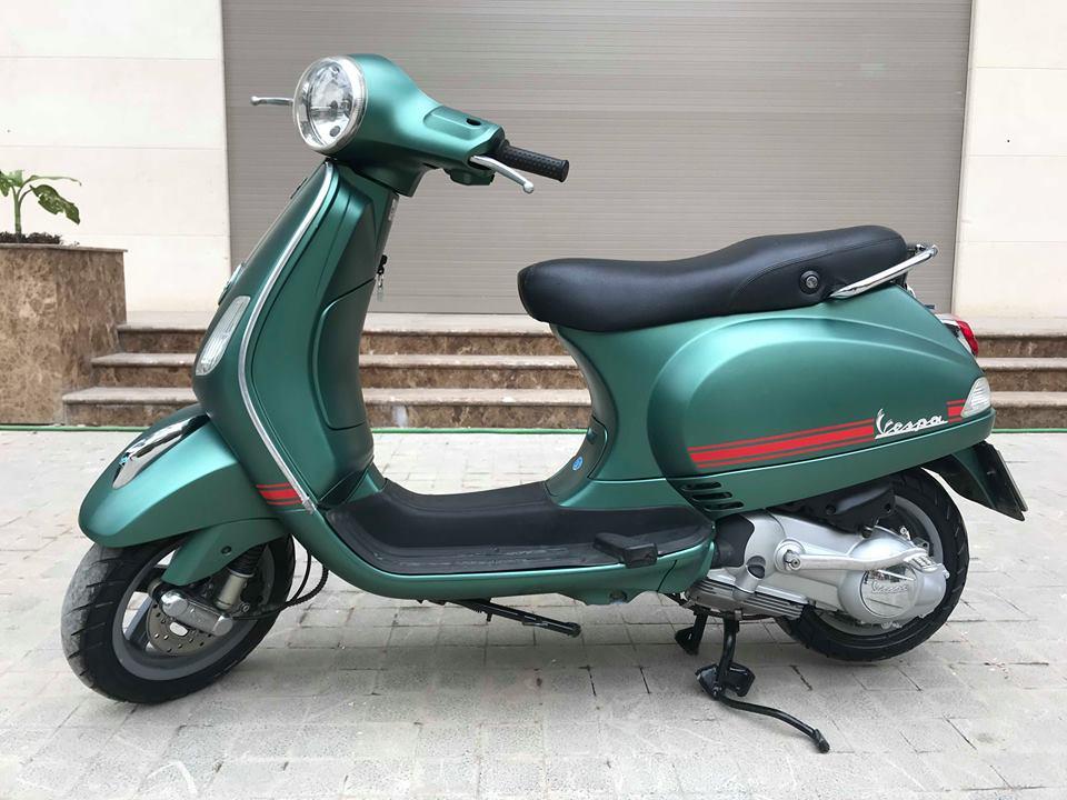 Vespa LX 125cc ban dac biet Sport mau xanh san - 3
