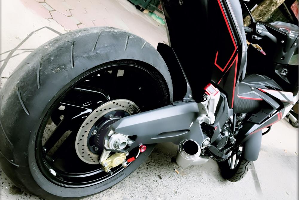 Winner 150 do sieu khung voi dan gap thua huong tu Ducati 899 - 6