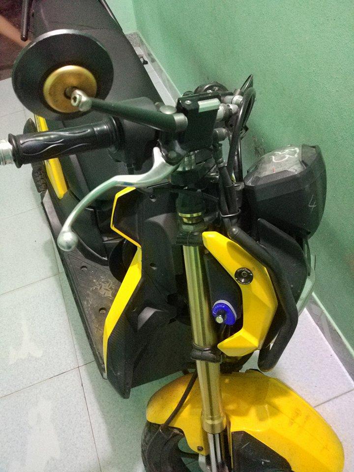 xe zoomer X 2013 chinh chu - 2