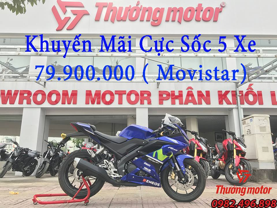 Yamaha R15 V3 2018 Uu dai dac biet mung Xuan 2018 - 2