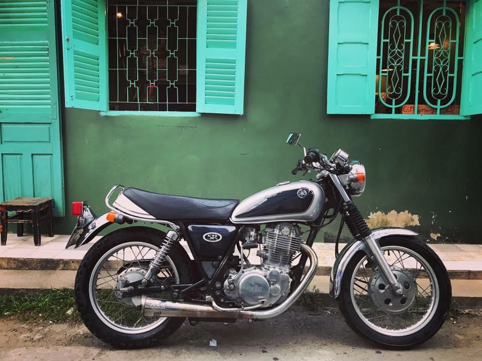 Yamaha SR400 bac 1999