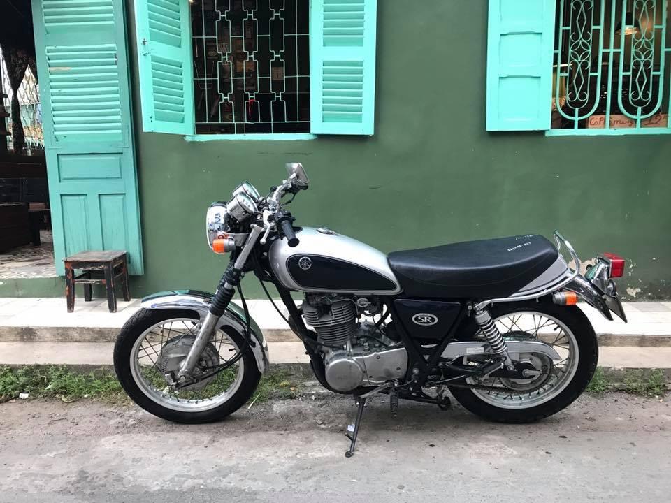 Yamaha SR400 bac 1999 - 8